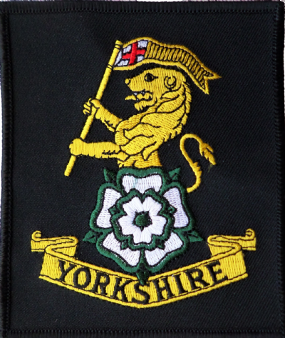 British Army Yorkshire Regiment MOD Approved Embroidered Patch